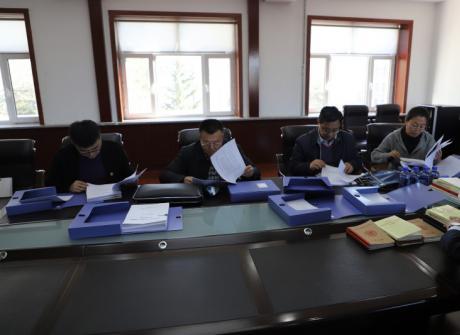 省教育工委主题教育第五指导组来我院检查指导工作