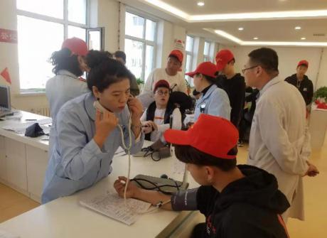 """我院团委学工处组织开展""""不忘初心、牢记使命""""青年志愿者无偿献血活动"""
