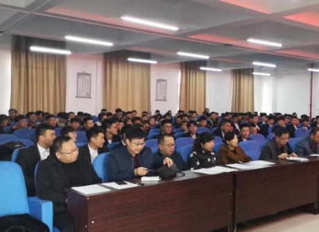 机电工程分院举行第九届学生会换届选举大会