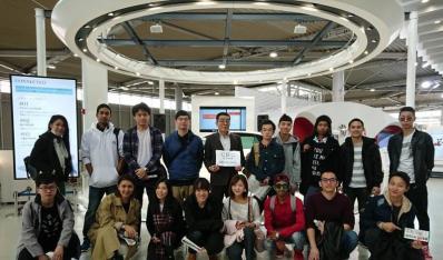 日语专业学生在日本